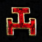 York Rite Knights Templar Triple Tau Flat Masonic Freemason
