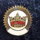 York Rite KYGCH Knights Templar Masonic Lapel Pin