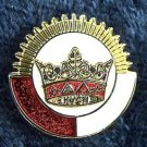 York Rite KYGCH Chapter Knights Templar Masonic Lapel Pin