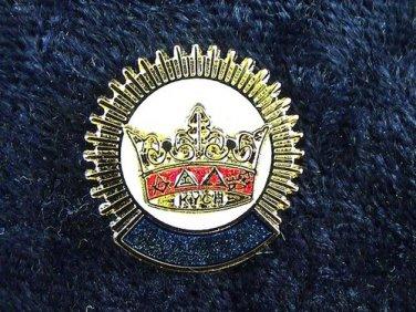 York Rite KYGCH Blue Lodge Masonic Lapel Pin