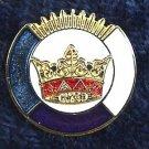 York Rite KYGCH Blue Lodge Council KT Masonic Lapel Pin