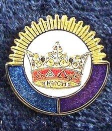 York Rite KYGCH Blue Lodge Council Masonic Lapel Pin