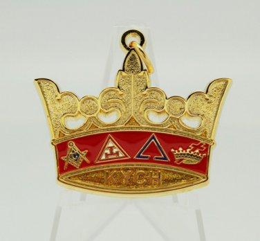 York Rite Knights Templar KYCH Jewel & Neck Cord