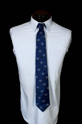 High 12 Twelve Freemason Masonic Silk Tie!