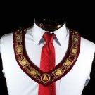 Royal Arch York Rite Knights Templar Keystone Collar