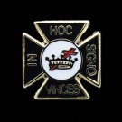 Knights Templar Cross Commandery Masonic Lapel Pin