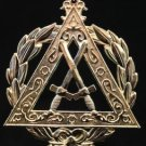 York Rite Royal Arch Grand Sentinel Tyler Officers Collar Jewel