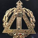 York Rite Royal Arch Grand Scribe Officers Collar Jewel