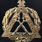 York Rite Royal Arch Grand Treasurer Officers Collar Jewel