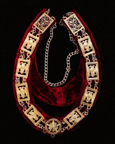 Scottish Rite Officers Masonic Freemason Collar