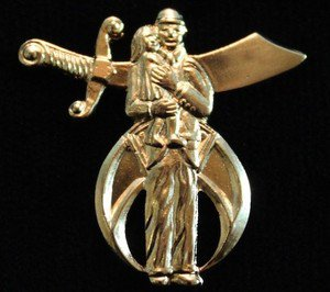 Shriners Editorial Without WordsMasonic Lapel Pin