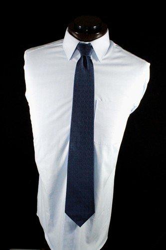 Blue Lodge Blue Square & Compasses Blue Masonic Silk Tie
