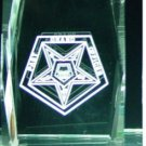 Order Eastern Star Past Grand Officer Masonic Crystal