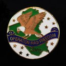 Operation Iraqi Freedom Patriotic Lapel Pin