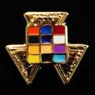"York Rite Past High Priest Deluxe Masonic Lapel Pin 3/8"""