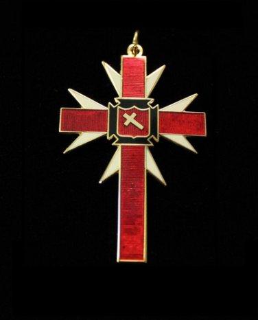 York Rite Knights TemplarPast Commanders Assn Jewel