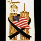Shriners Masonic 9-11  U.S. American Flag Lapel Pin