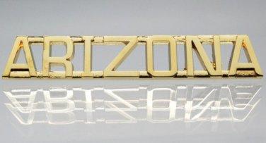 Arizona Gold Uniform Lapel Pin Bar
