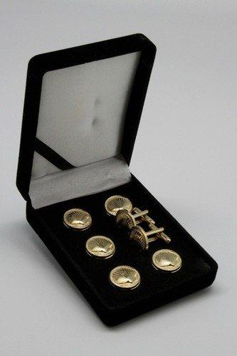 St. Thomas Of Acon Gold Masonic Freemason Stud Suit & Tux Set