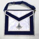 Blue Lodge Member Master Mason Freemason Masonic Square & Compasses Silk Apron