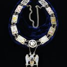 Scottish Rite S.G.I.G. Personal Representative Masonic Freemason Collar & Jewel