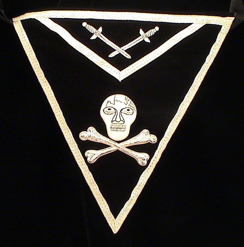 Knights Templar York Rite Freemason Masonic Apron