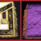 York Rite Past Grand Illustrious Master Freemason Masonic Apron