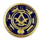 Blue Lodge Freemason Masonic Brotherhood, Liberal Arts Coin