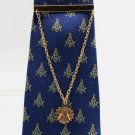 Blue Lodge Square & Compasses Freemason Masonic Tie Clip