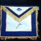 Blue Lodge Two Balls & A Cane Freemason Masonic Apron