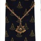Blue Lodge F&AM Past Master Freemason Masonic Tie Chain
