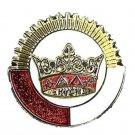 York Rite KYGCH Chapter Knights Templar Masonic Lapel Pin