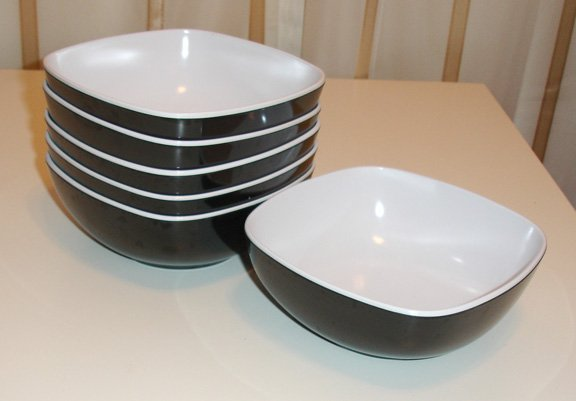 square bowls- set of 6