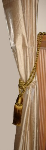 gold curtain tassle