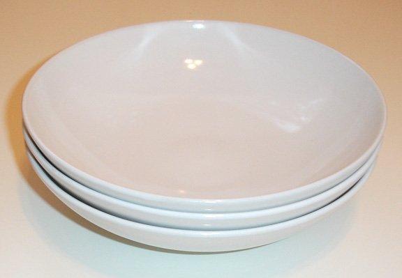 white stoneware bowls- set of 6