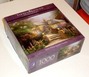 1000-piece puzzle- thomas kinkade