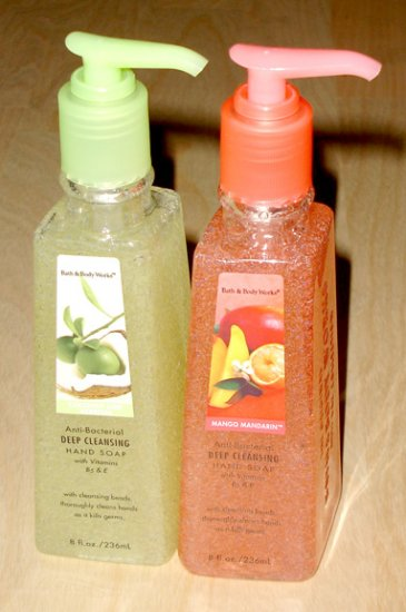bath and body works hand soap (set of 2)
