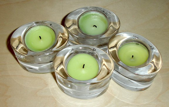 candle holders set of 4