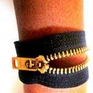 Unzip Me Bracelet-Black