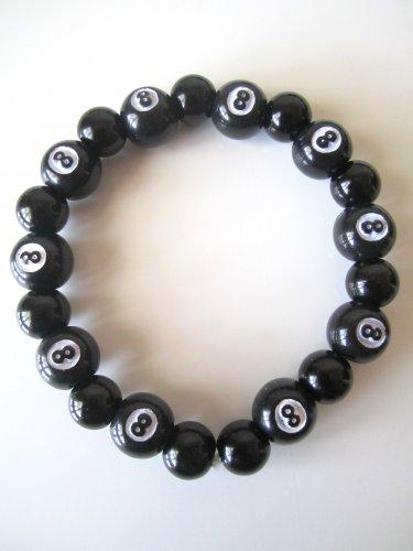 Men's 8 Ball Billard Bracelet