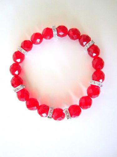 *SALE* Candy Gems Bracelets-Strawberry
