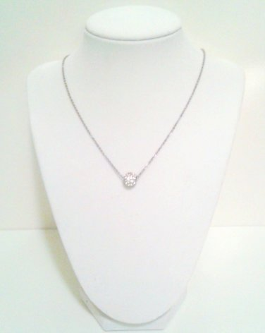 Pave Crystal Ball Necklace