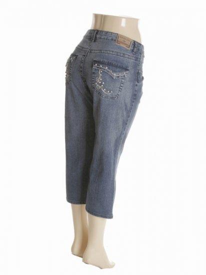 Wholesale Plus Size Jean Capri