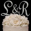 "Swarovski Covered Cake Jewelry Letters | ""&"" Set"