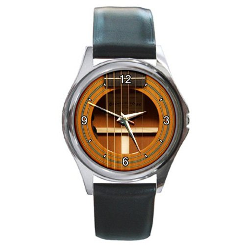 Soundhole Stonebridge OMS-22-CM Round Guitar Style Round Metal Watch