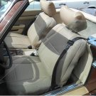 MERCEDES SL & SLC 1971-1989 MIX LEATHERETTE & SYNTHETIC TWO FRONT SEAT COVERS