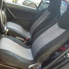 Fits SMART FORTWO 1998-2007 450 TWO FRONT CUSTOM SYNTHETIC AND VELOUR CAR SEAT COVERS