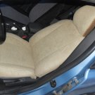 TWO FRONT CUSTOM VELOUR TAN CAR SEAT COVERS Fits VOLVO S40 V40 S60 S70 V70 С80