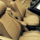 for VOLVO C70 1997-2005 mix LEATHERETTE & SYNTHETIC TWO FRONT CUSTOM TAN (BEIGE) CAR SEAT COVERS
