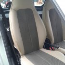 SMART FORTWO 2007-.... MIX LEATHERETTE & TWO TONE SYNTHETIC FISHNET TWO CAR SEAT COVERS